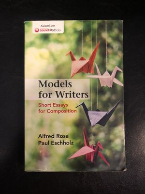 Models for Writers Twelfth Edition for Sale in Portland, OR