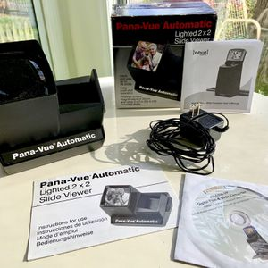 Pana-Vue 35mm Automatic Transparency Lighted 2x2 Slide Viewer for Sale in Bethesda, MD