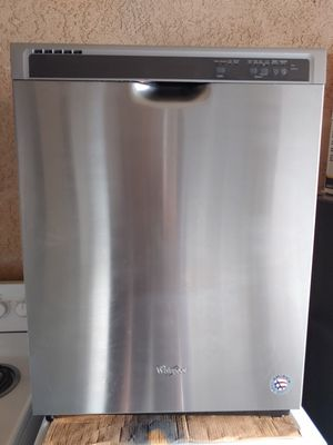 DISHWASHER WHIRLPOOL STAINLESS STEEL for Sale in Santa Ana, CA