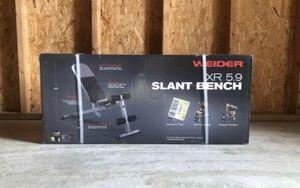 Weight bench adjustable weider 5.9 for Sale in Woodhaven, MI