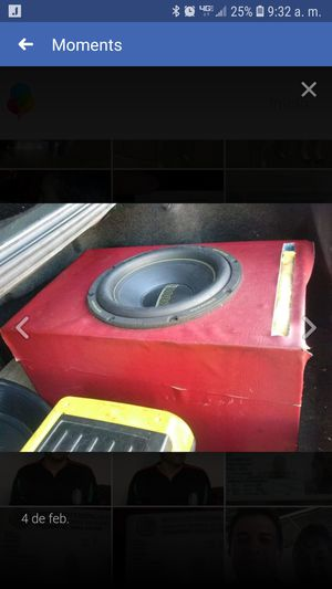 Sub 12 3000 wats $100 for Sale in Houston, TX