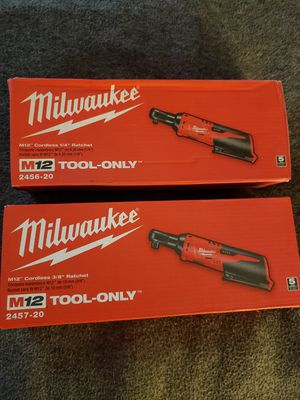 "Milwaukee M12 1/4"" & 3/8"" Ratchet's [FIRM on Price] for Sale in Phoenix, AZ"