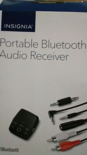 Portable Bluetooth audio receiver *insignia for Sale in Oakland, CA