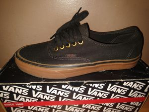 Vans Authentic Black/Rubber $40 or Best Offer for Sale in Garden Grove, CA