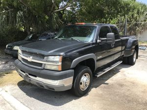 Chevy dually clean title has not a diesel runs stron tow anything for Sale in Boynton Beach, FL