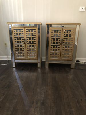 Gold Mirror chests for Sale in Pittsburgh, PA