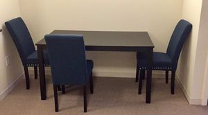 Dining Table with 3 Chairs for Sale in Cambridge, MA