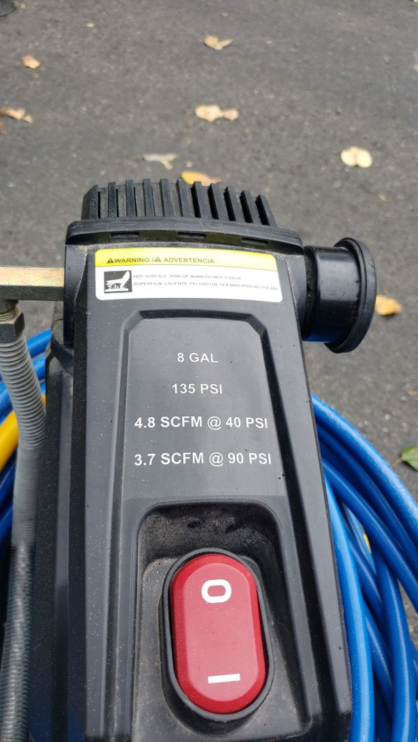 Almost new Compressor and hose ...(MovingSale!CheckMyProfile)
