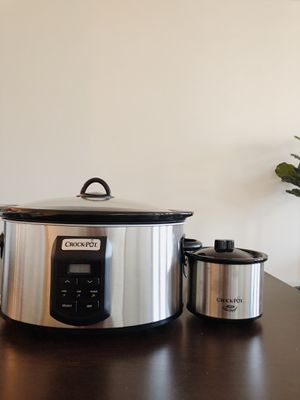Crock Pot with mini- BRAND NEW for Sale in Jacksonville, FL