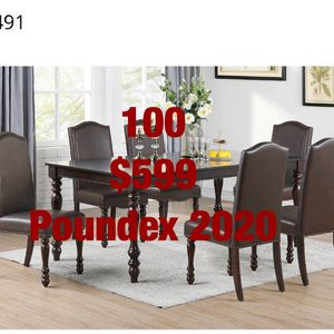 Dining Sets. Assembly Required. Assembly Not Included. Free Delivery for Sale in Torrance, CA
