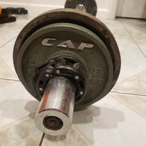 Curl Bar With Weights for Sale in Commerce, CA