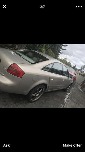 2000 Audi A6 for Sale in Snohomish, WA