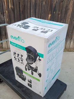Evenflo Pivot Travel System With Safemax Car Seat for Sale in Huntington Park,  CA