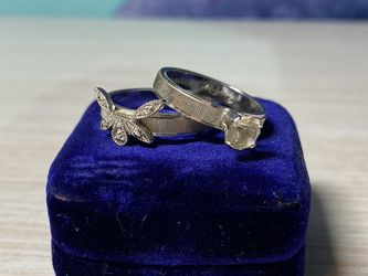 Vintage Uncas Wedding Set for Sale in Chesterfield,  MO