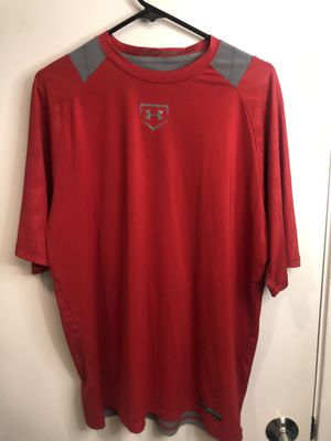 Red Under Armour Shirt for Sale in San Francisco, CA
