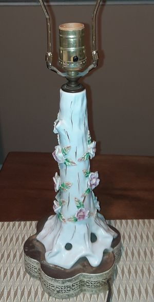 Vintage Floral Lamp for Sale in Damascus, MD