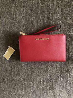 Red Women's Michael Kors Wallet for Sale in Washington, DC