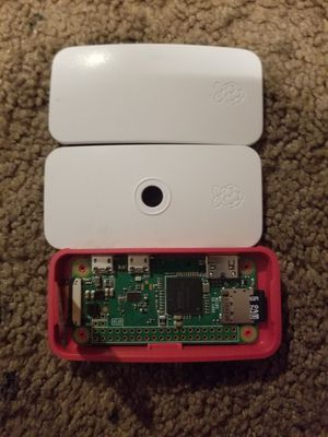 Pi zero w/case & 8gb sd card for Sale in Lakewood, CA
