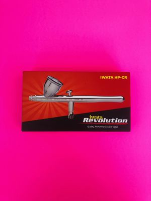 Iwata Revolution HP-CR Gravity Feed Dual Action Airbrush for Sale in Vineland, NJ