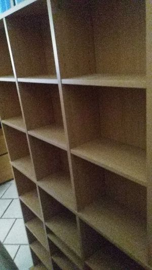 3 like new bookshelves (perfect for dvds or books) 5ft tall for Sale in Spring, TX