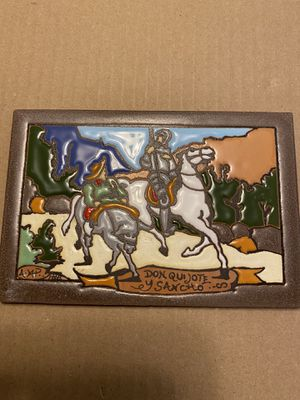 """6x4"""" Clay Mexican Don Quijote Title for Sale in El Paso, TX"""