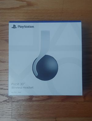 Playstation 5 Pulse 3D Wireless Headset for Sale in Des Plaines, IL