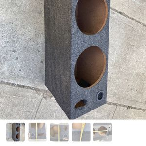 "10"" Dual Subwoofer Box for Sale in Los Angeles, CA"