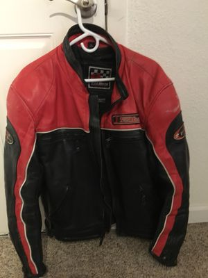 First Racing Leather armored Motorcycle Jacket for Sale in Golden, CO