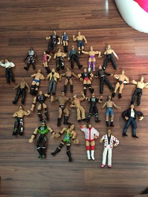 Old wrestlers / action figures for Sale in Cleveland, OH