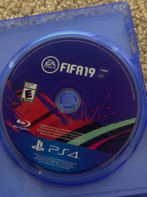 Fifa 19 ps4 for Sale in Silver Spring, MD