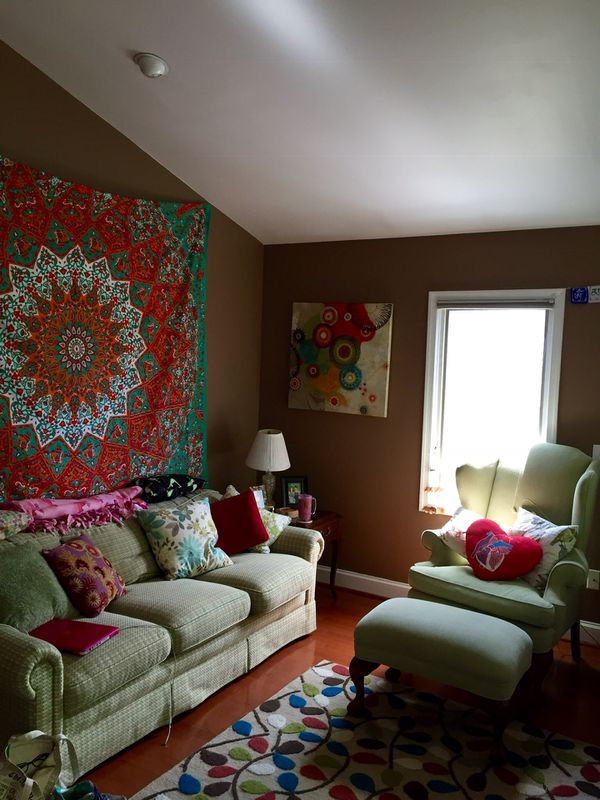 Tapestry and Painting