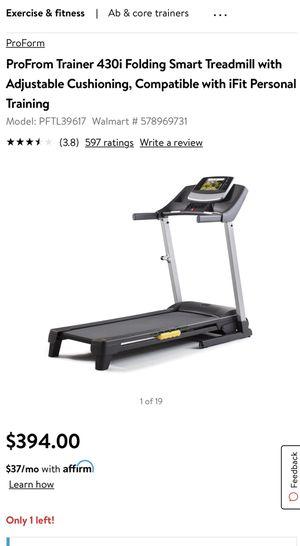 Brand new open box proform treadmill for Sale in Tulare, CA