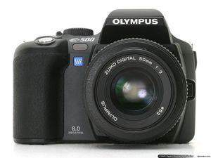 Professional Camera - Olympus Evolt E500 8MP Digital SLR with 14-45mm f/3.5-5.6 & 40-150mm f/3.5-4.5 Zuiko Lenses for Sale in Miami, FL