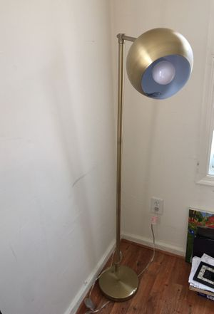 Designer Lamp w/ on and of push switch for Sale in Richmond, VA