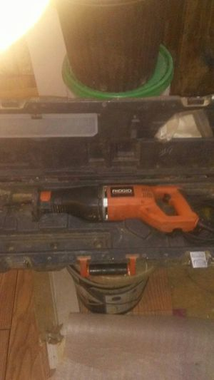 Ridgid saw saw for Sale in Kingston, GA