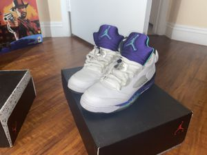 Jordan 5 grape size 7y brand new for Sale in Las Vegas, NV