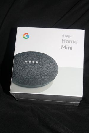 Google Home Mini Smart Assistant - Charcoal (GA00216-US) for Sale in Joint Base Lewis-McChord, WA