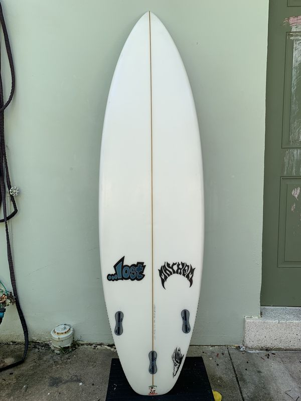 "6' 3"" Lost Mayhem Pocket Rocket surfboard"