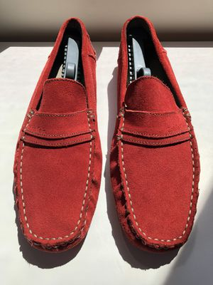 Mens Calvin Klein Suede Leather Loafers - Size 9 for Sale in San Diego, CA