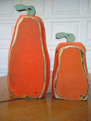 wooden decorative pumpkins 🎃 for Sale in Phoenix, AZ
