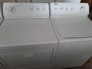 Washer and gas dryer kenmore elite for Sale in Pumpkin Center, CA