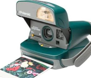 Polaroid 600 Express Green Instant Camera for Sale in Salisbury,  NC