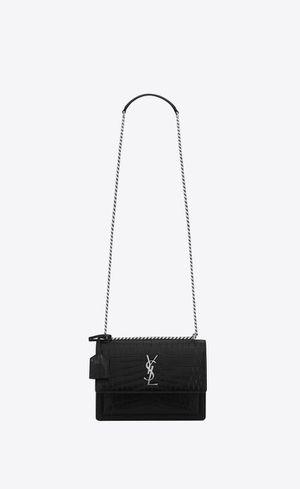 Yves saint laurent purse, black for Sale in Houston, TX