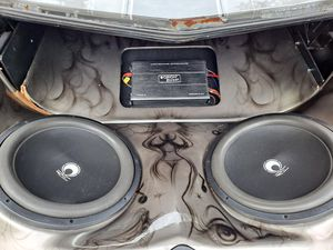 """15"""" Subwoofers and Amp for Sale in Blackstone, VA"""