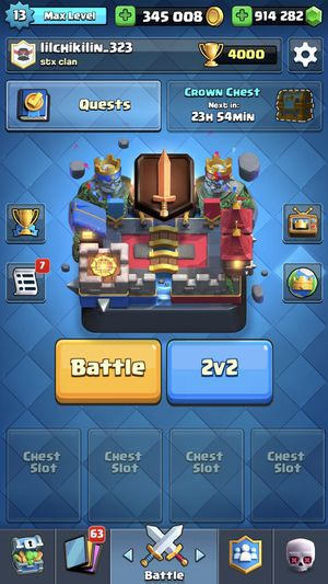Clash Royale acc for Sale in Inglewood, CA