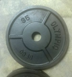 Olympic BFCO 35LB Plates (Pair) for Sale in Concord, CA