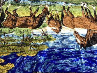 Wall Art Europe Fabric Horses In Field Wall Art for Sale in Bolingbrook,  IL