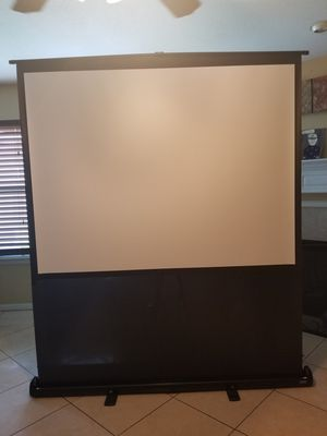 "Da-Lite Deluxe Insta-Theater 80"" portable screen for Sale in Missouri City, TX"