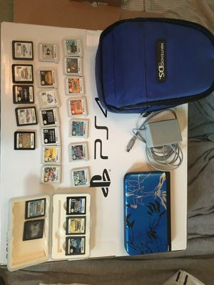 Nintendo ds used, almost new condition, no noticeable damage or wear +25 games for Sale in Missoula, MT
