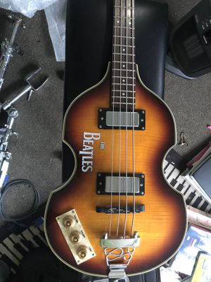 Violin style left handed bass for Sale in Fairfax, VA